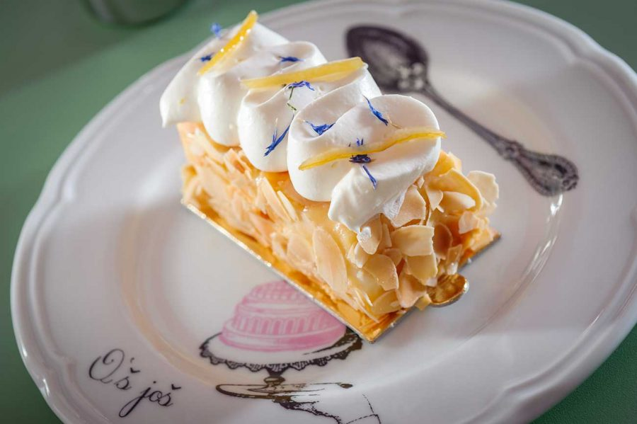 Lemon cake from Os Kolac Pastry shop