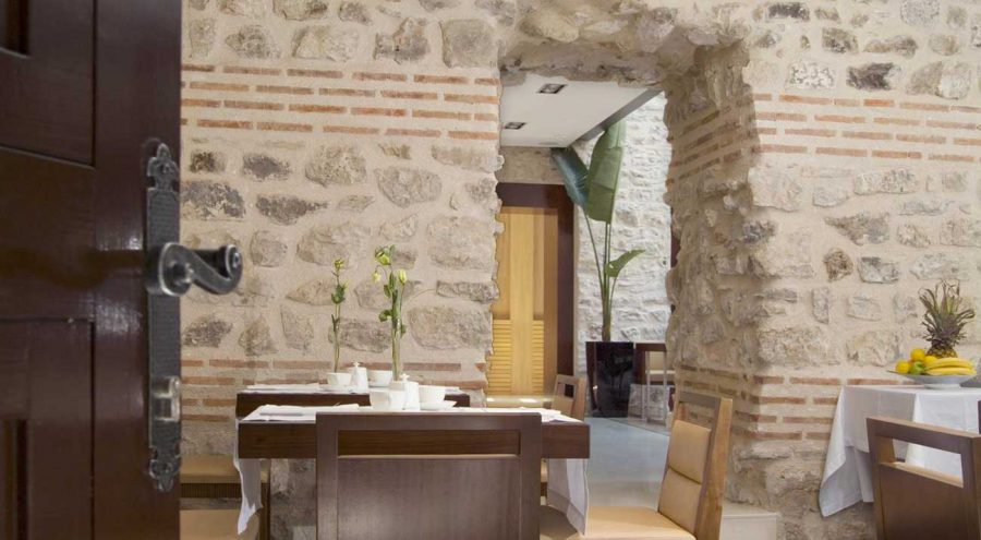 Hotel Vestibul, dining room